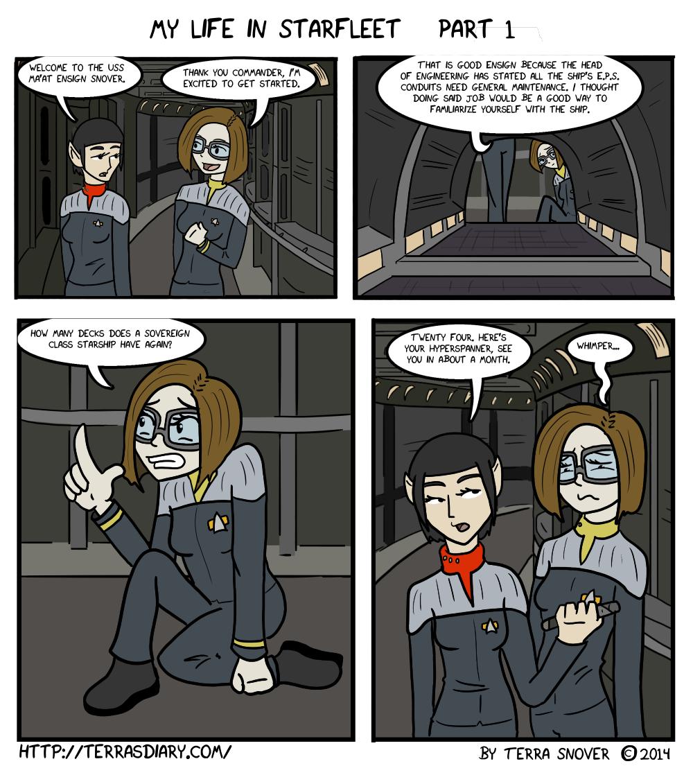 My Life in Starfleet Part One